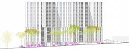 Wohnüberbauung Bächtelen<br />Zürich 2007<br />Wettbewerb Wohnen