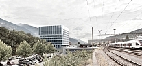 Complexe de la Gare Sud CFF de Sierre<br />Sierre 2011<br />Wettbewerb Bildung