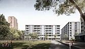 Wohnsiedlung Hardau I<br />Zürich 2018<br />In Projektierung Städtebau